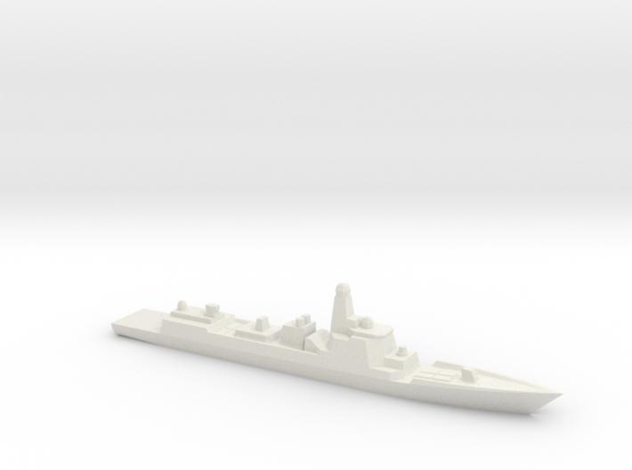 Type 052D 1/3000 3d printed