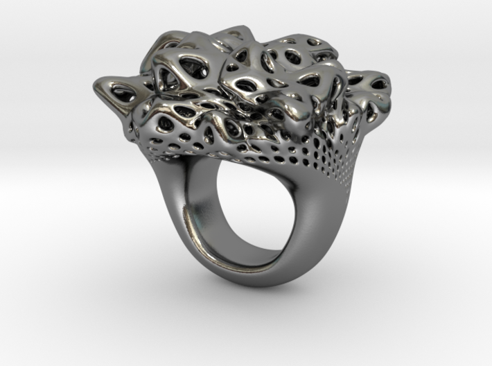 Nebula Ring 3d printed
