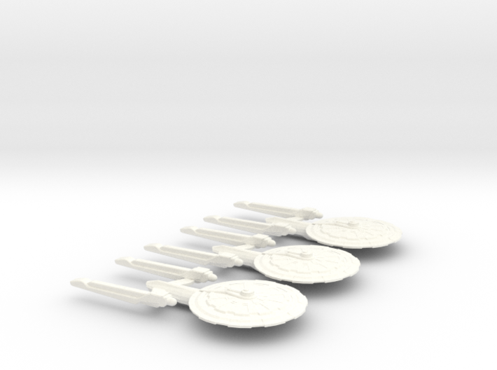 Ansley Class Heavy Cruisers 3d printed