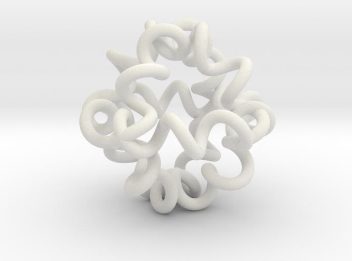 spiraloktaeder 3d printed