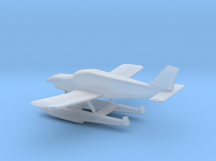 1:400 Piper PA28 Cherokee Floatplane 3d printed