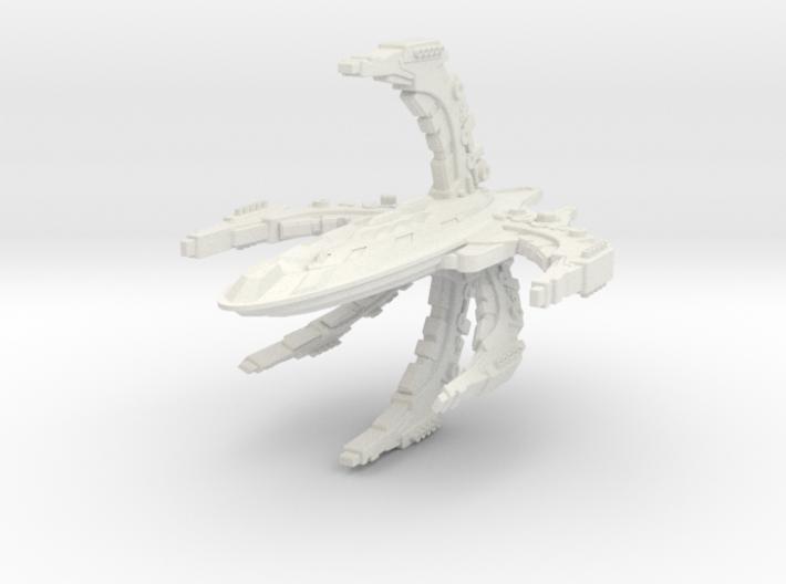 ComTross Class Battleship 3d printed