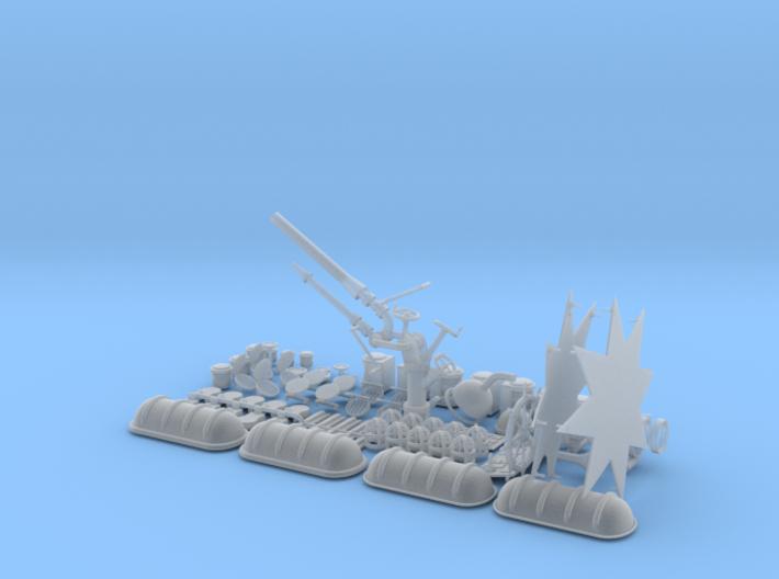 Fairplay X Beschlagsatz 3(4) 1:50 3d printed