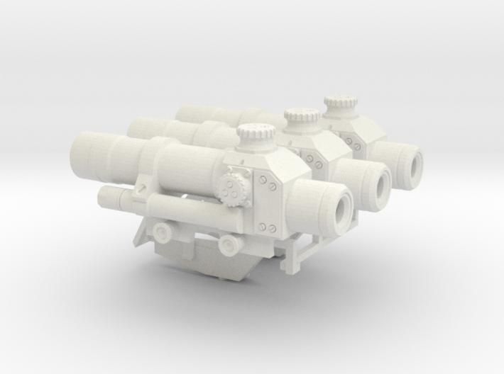 1:6 scale russian PKS-07 asst. 1 3d printed