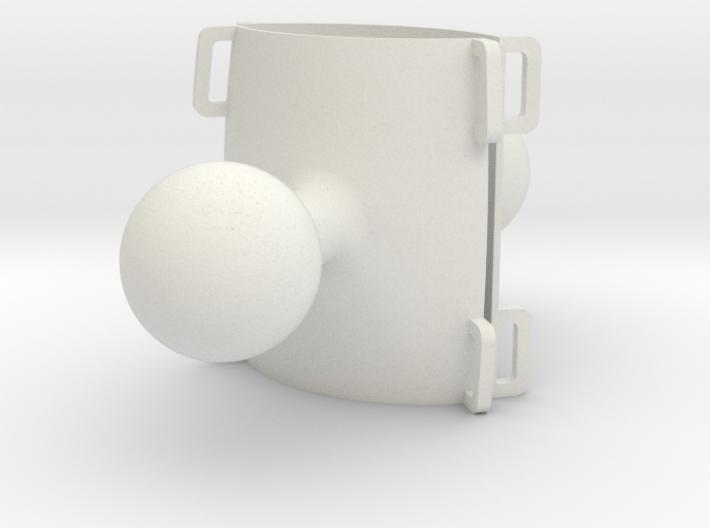 Atom RAM mounts hollow (2) 3d printed