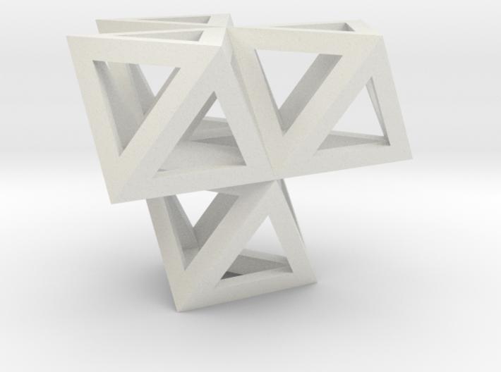 tetraeder mit oktaedern 3d printed