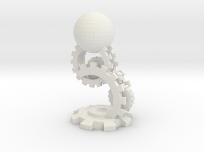Clockwork Pawn 3d printed