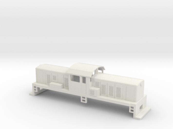 DSC Locomotive, New Zealand, (S Scale, 1:64) 3d printed