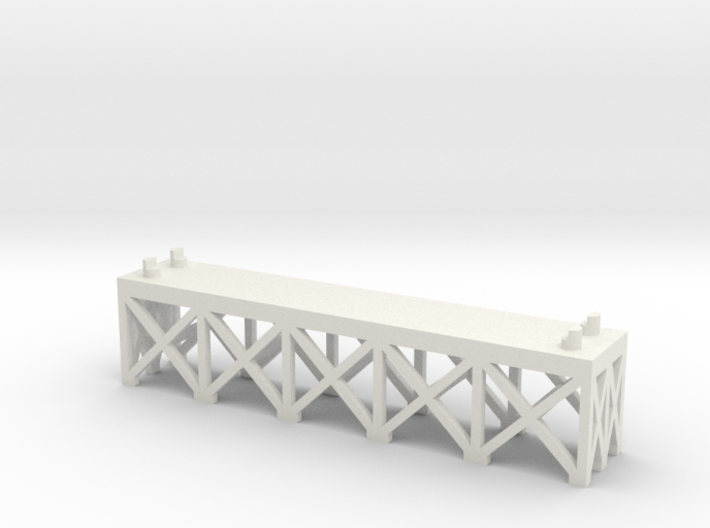 JOINER, DOUBLE TRACK 1/2 INCH 3d printed