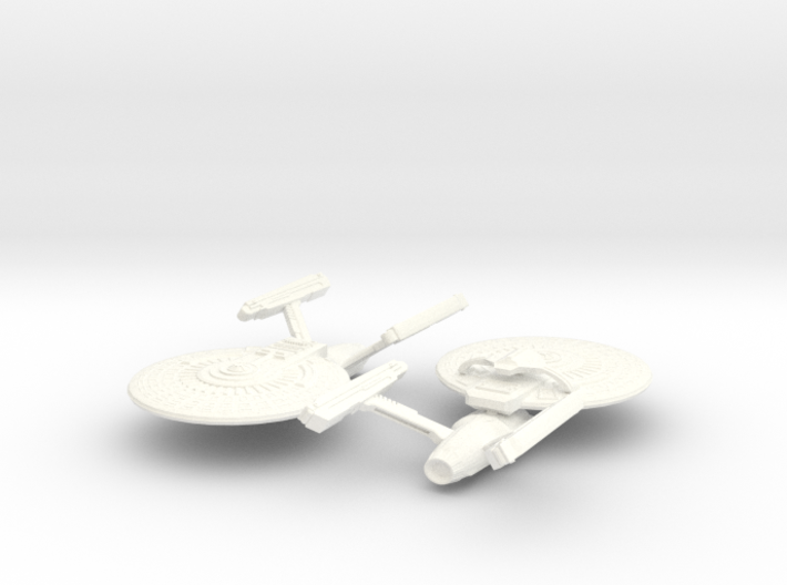 USS Brant and USS Neolin 3d printed