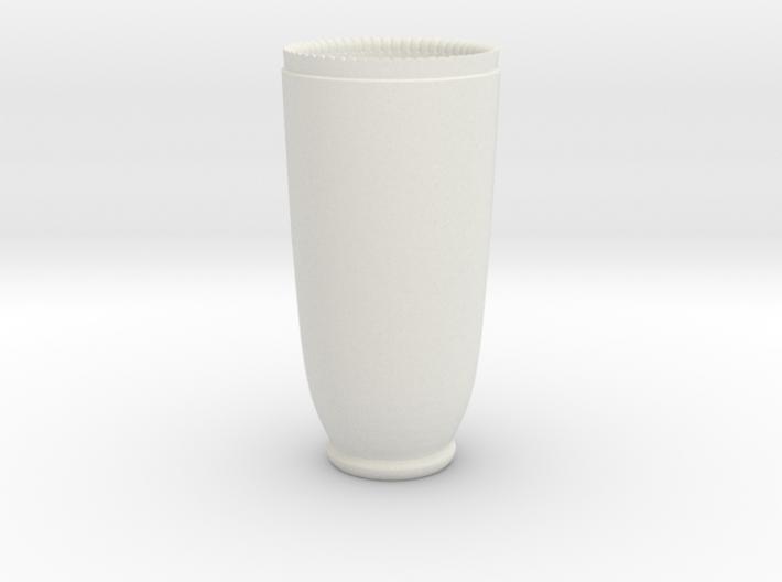 Shotgunshotglass Ceramic 3d printed
