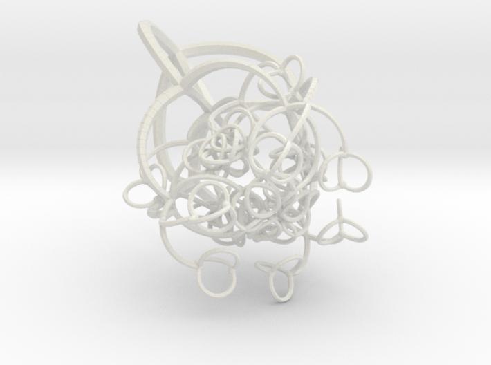 Branching 3d printed