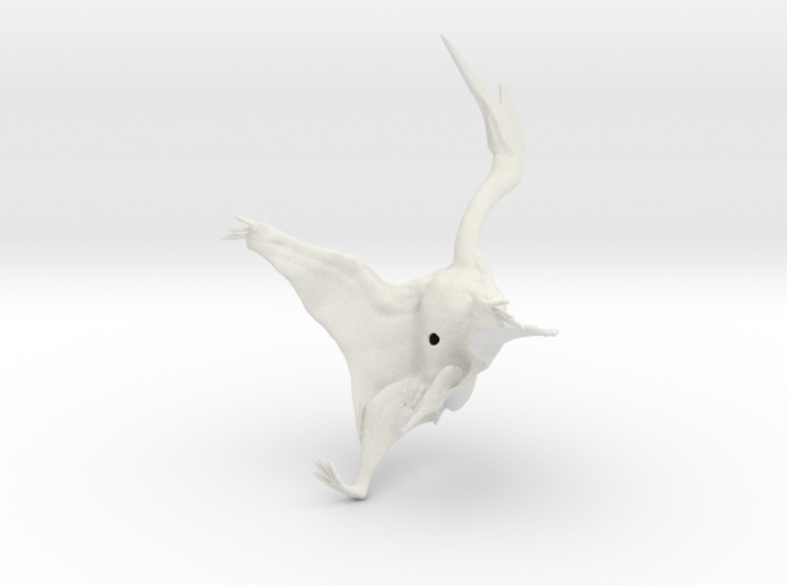 Quetzalcoatlus 1:40 scale model 3d printed