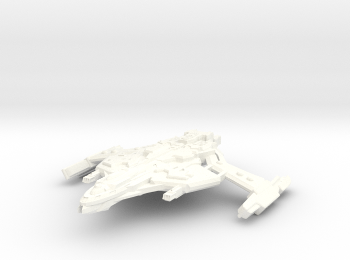 D'Trell Class AttackCruiser 3d printed