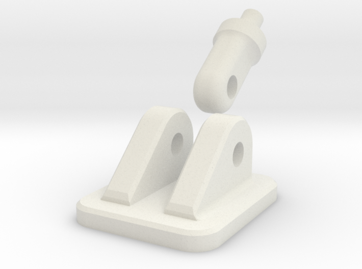 3mm Jaw Bracket & Fixing Point 3d printed