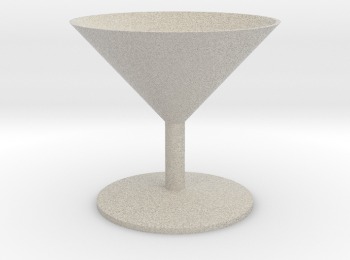 Martini Glass 3d printed