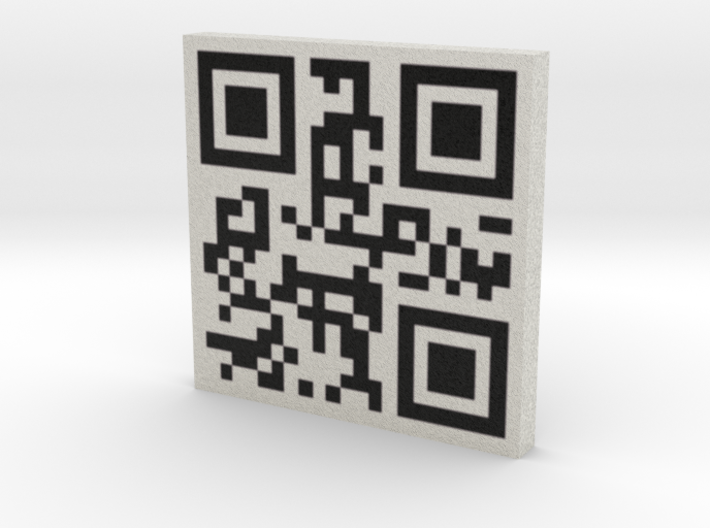 QRCode -- archip 3d printed