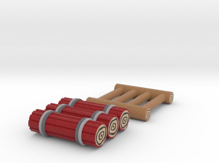 Zelda Fan Art: TLoZ: Ladder And Raft 3d printed