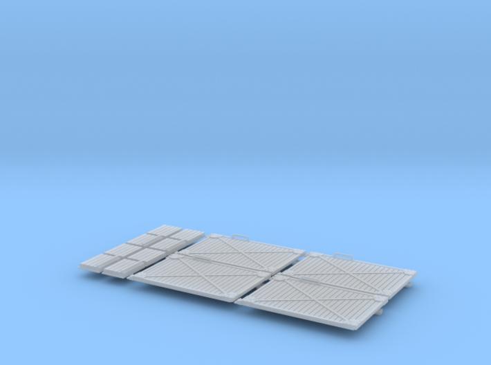 Türen und Füllstücke f. MT, 4x 3d printed