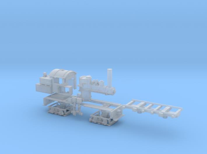 TT Scale Mich Cal #2 Shay 3d printed