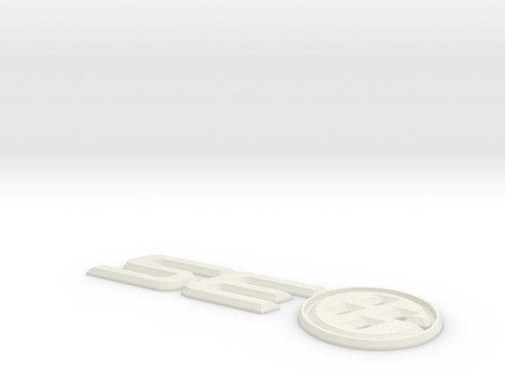 SouthEast86 Trunk Badge 3d printed