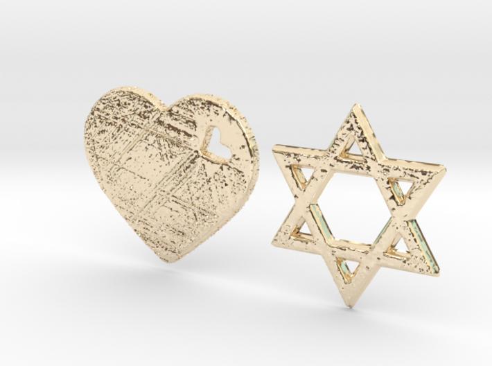 Love Israel 3D Design 3d printed