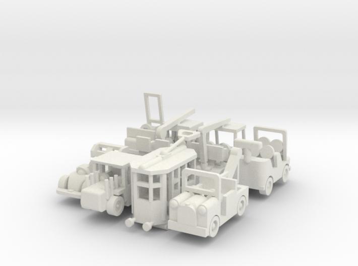 Besatzungsatzset - 1:87 (H0 scale) 3d printed