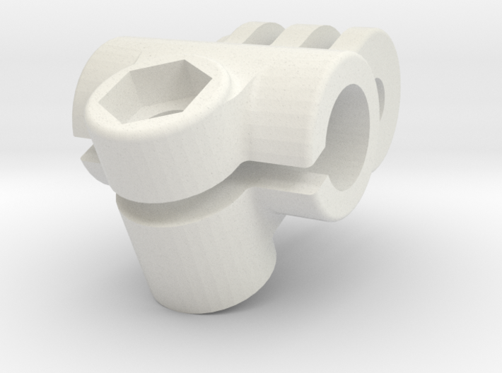 GoPro Mount for 9mm Heavy Duty Camera Rig 3d printed