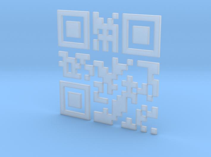 Wien Vienna 3D QR Code Puzzle 120mm 3d printed