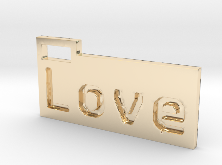 Love 3D 3d printed