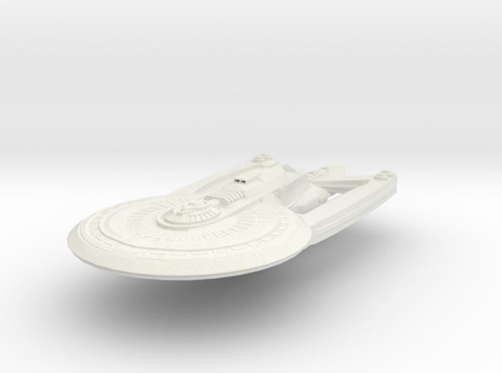 Alaska Class HvyCruiser Refit B 3d printed