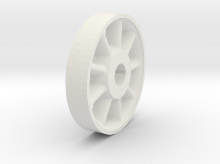 Wheel Center -1-8th 3d printed