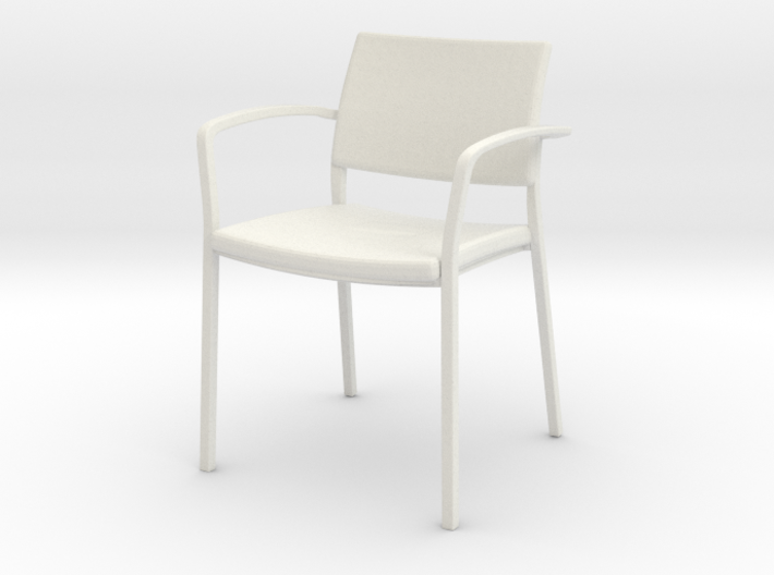 Stylex Brooks Arm Chair 1:24 Scale 3d printed