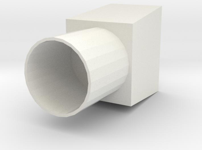 Air Duct R2 3d printed