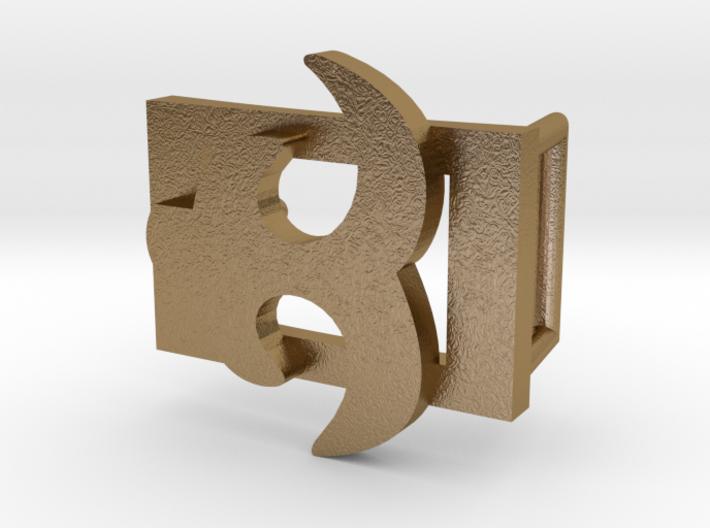 AKOKO NAN BELT BUCKLE 3d printed