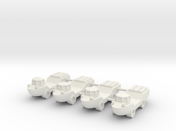 1/285 LARC-V Amphibious Truck (x4) 3d printed