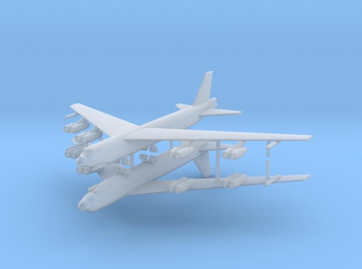 1/600 B-52G Stratofortress (x2) 3d printed