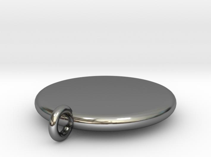 Basic Round Medallion 3d printed