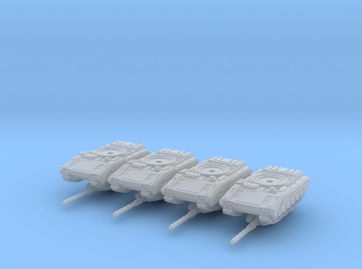 3mm Merka 5 Platoon 3d printed