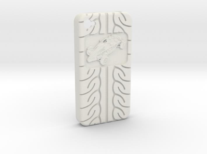 iPhone 4S Atom AD08 tread 3d printed