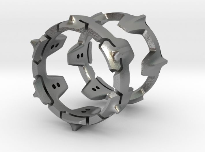 Mystery Ring (Large, 22 mm opening) 3d printed