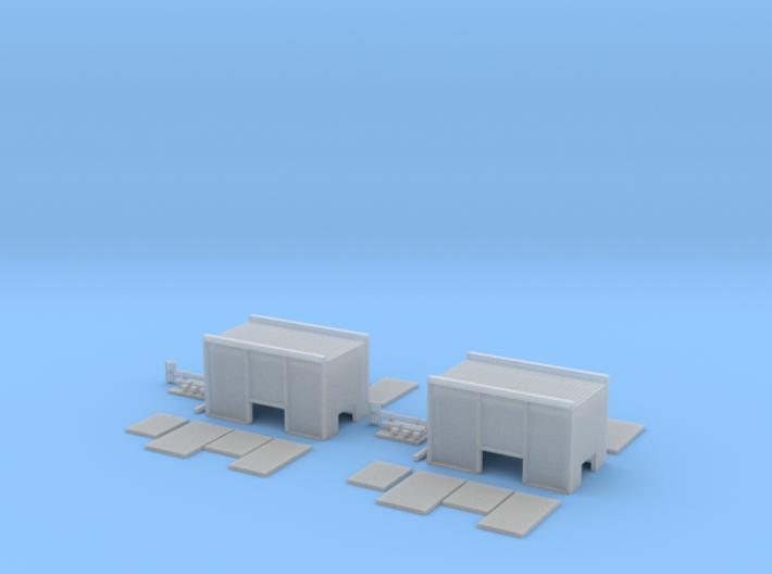 Opbouw Ziegler tankautospuit 2 stuks 3d printed