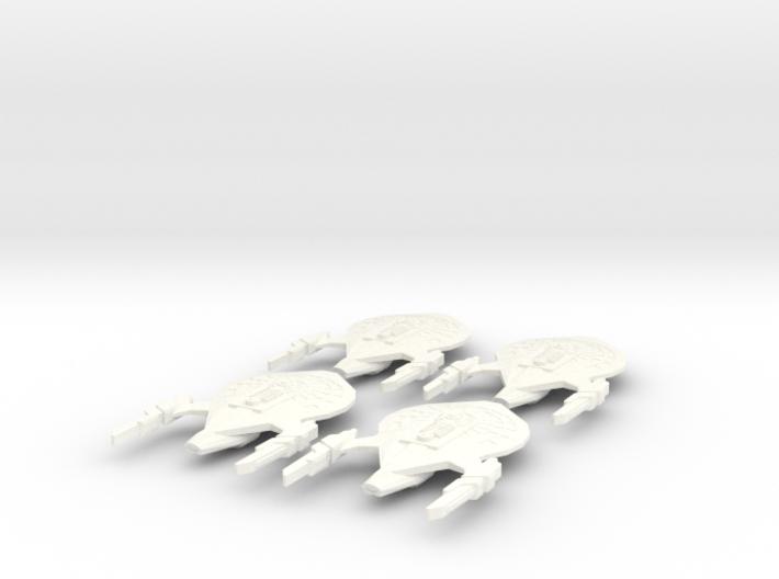 Ramses Class Fleet 3d printed