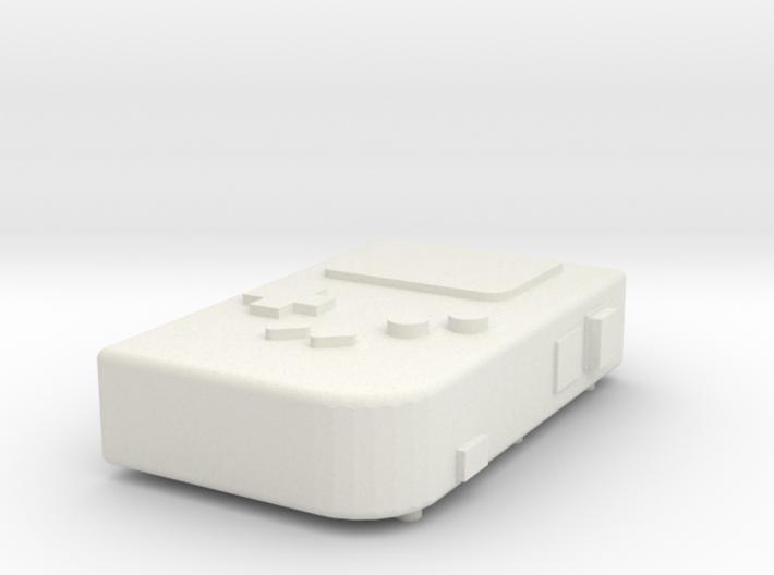 PiGRRL Raspberry Pi Gameboy 3d printed
