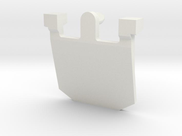 IBM Model F - Pivot Plate v2 3d printed