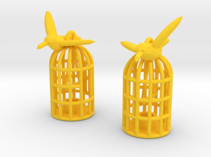 Flown The Coop (smaller version) 3d printed
