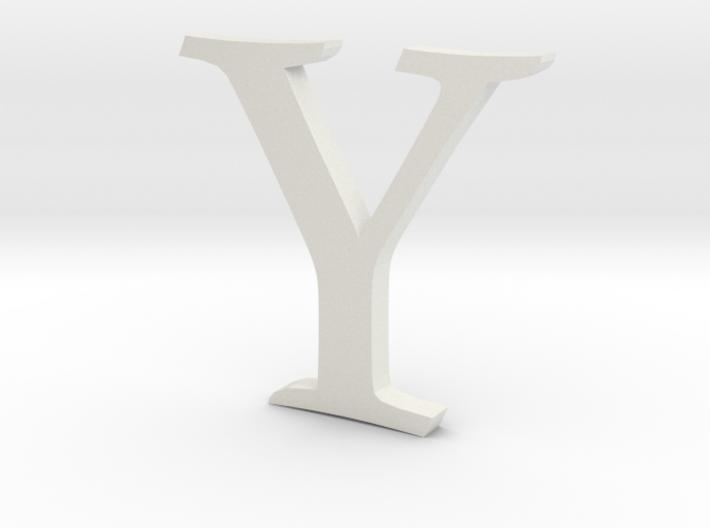 Y (letters series) 3d printed
