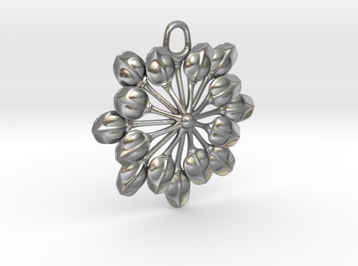 Sun Petals Pendant 3d printed
