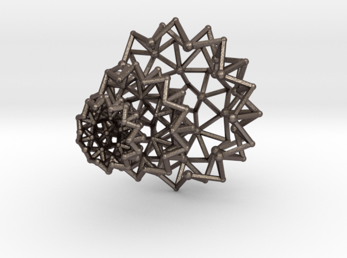 Tessa Half WireBalls 3 sizes - 4cm 3d printed