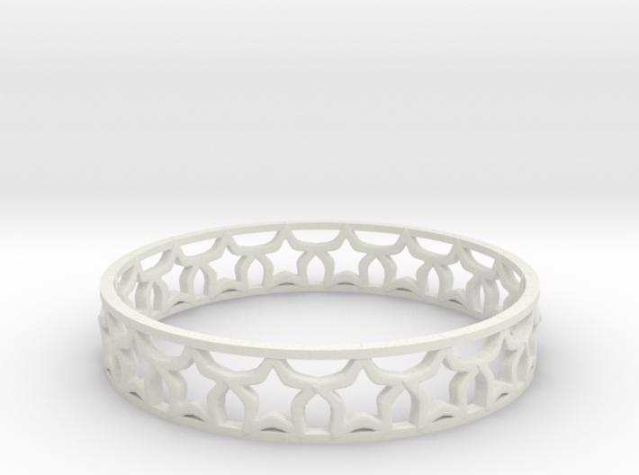 Stars Bracelets 3d printed